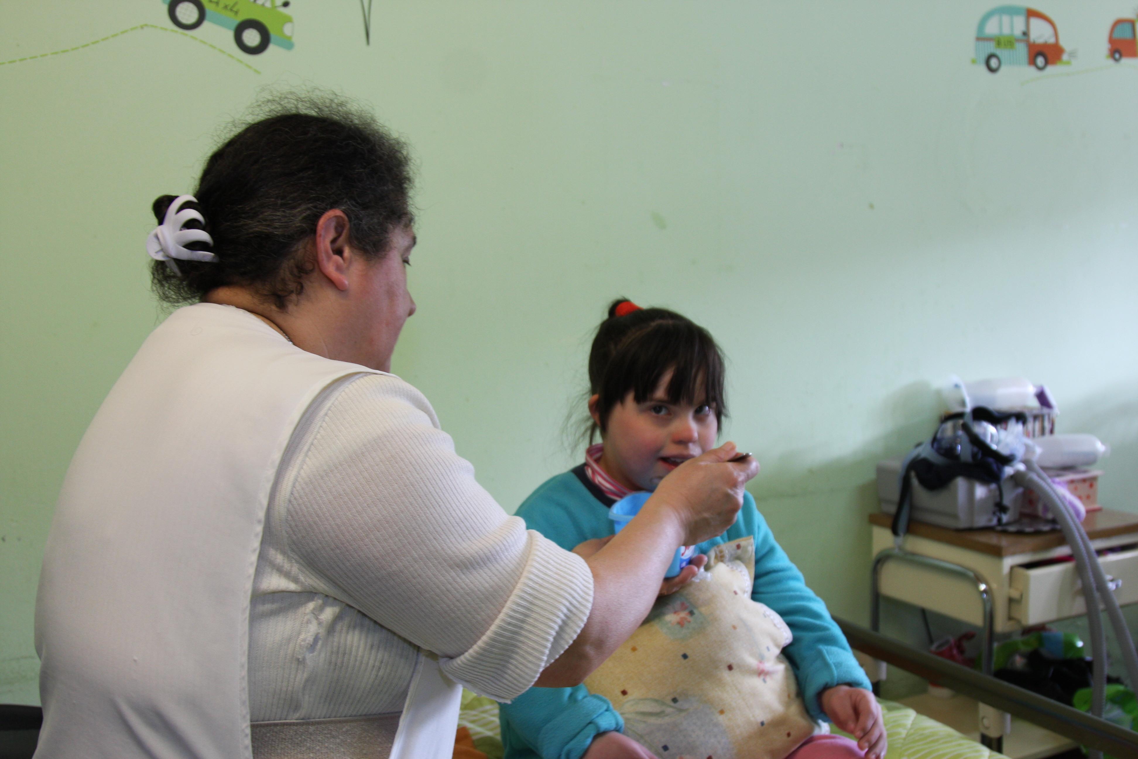 El Pequeño Cottolengo acoge a más de 160 niños con déficit intelectual severo.