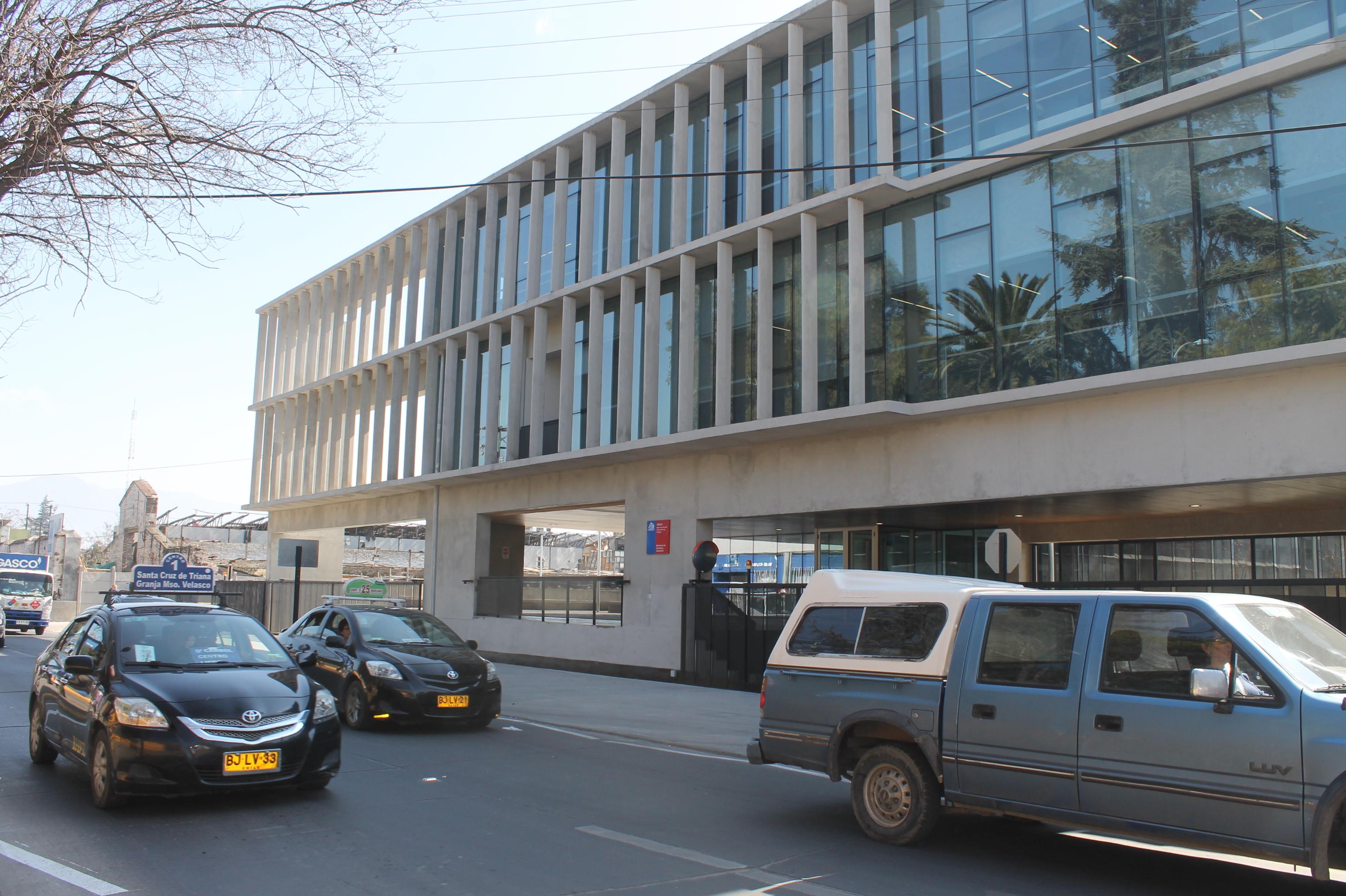 4- Fachada del edificio por O'Carrol.