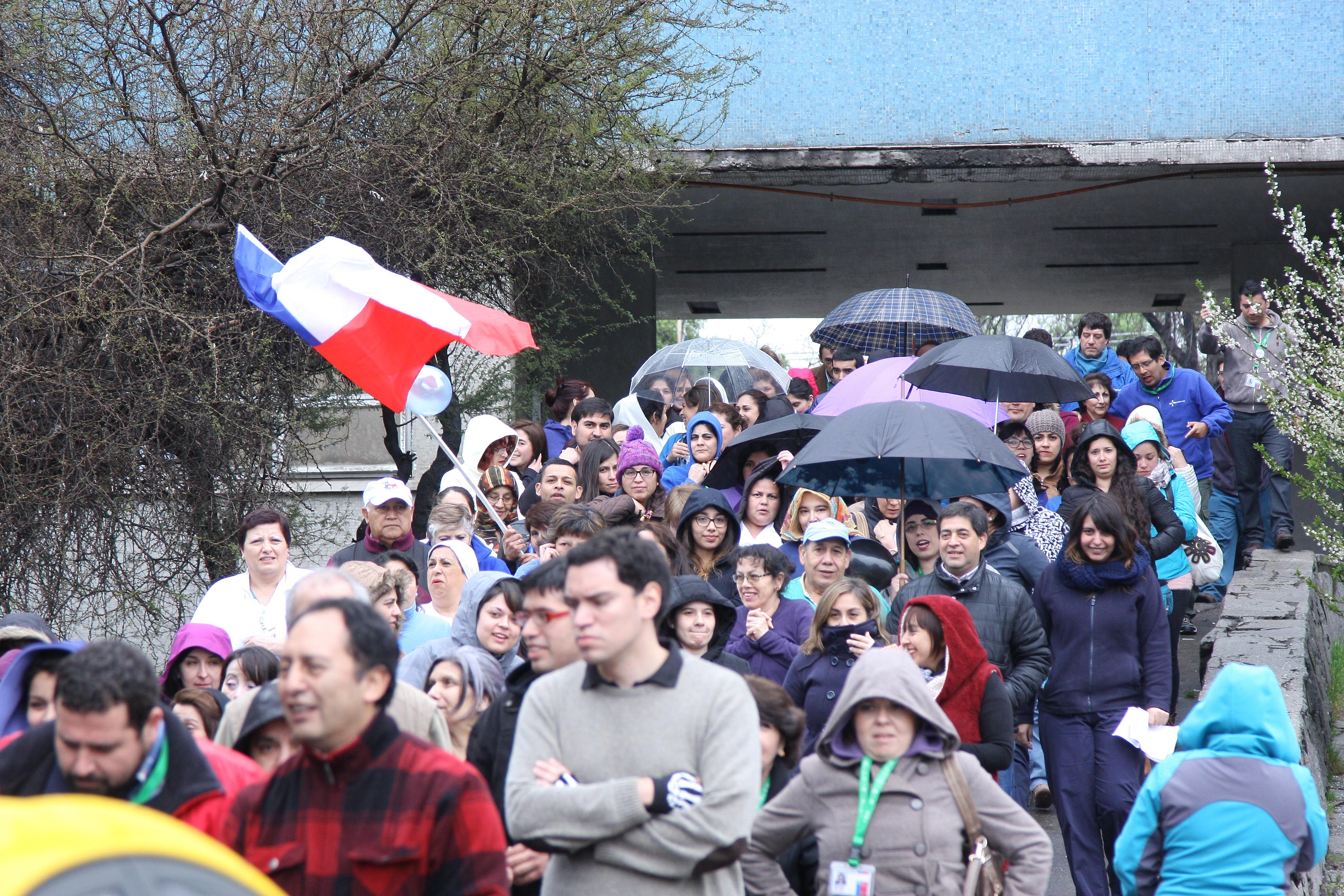 Funcionarios del Hospital Regional protestaron por las nulas respuestas en materia de traslados
