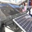 Módulos con sistemas fotovoltaicos se presentaron en este seminario.