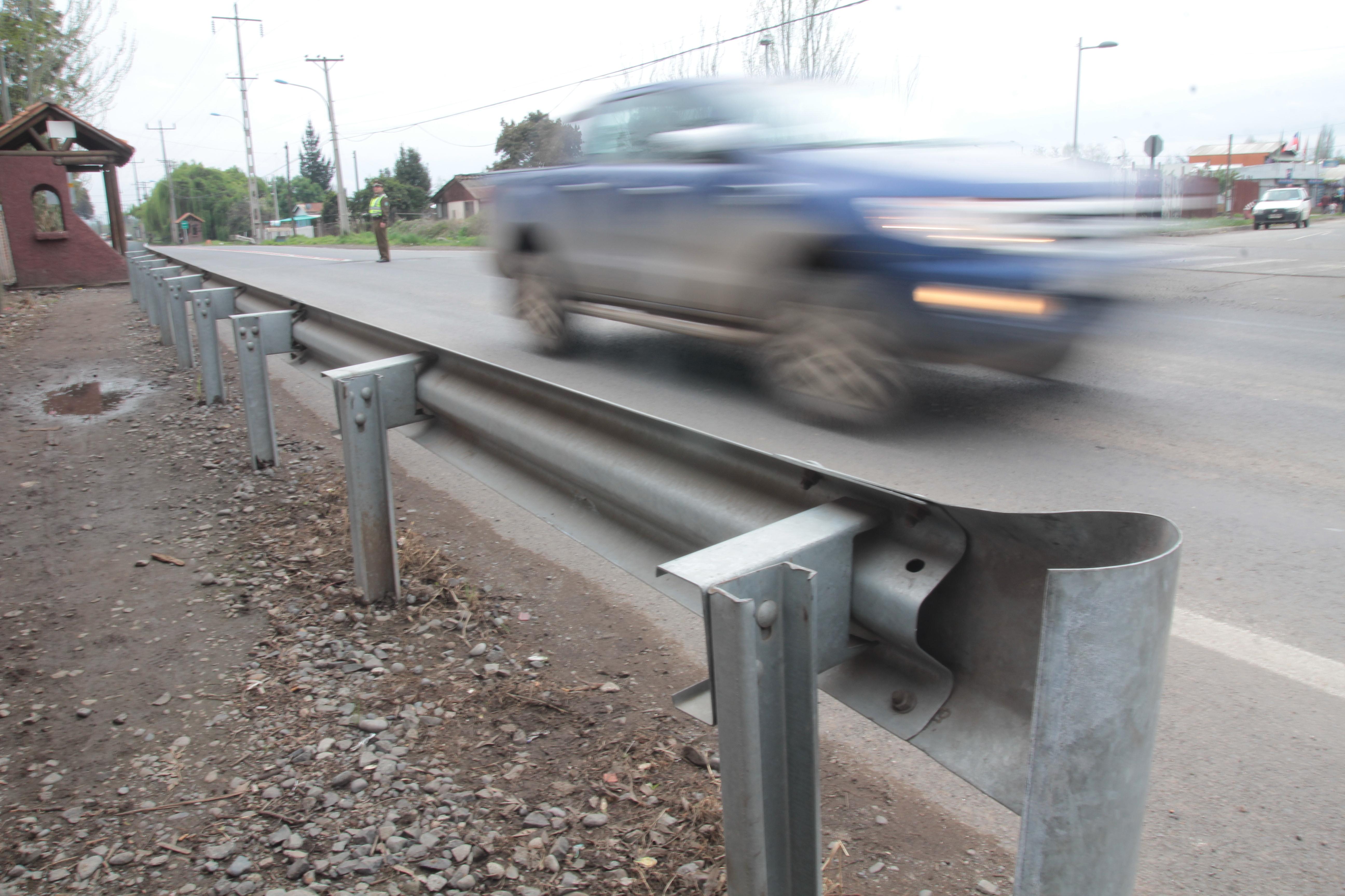 El tramo de La Moranina, en la Ruta H-10, es habitualmente transitado a altas velocidades.