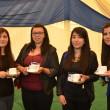 Paula Escobar, Constanza Loiza, Sabrina Espinoza y Stephanie Fuentes.