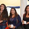 Janina Flores, Joselyn Román y Loreta Muñoz.