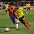 Chile igualó 1-1 frente a Colombia la noche de este jueves en el estadio Nacional.