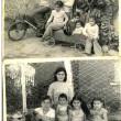 Envío foto familiar,  de mi Madre con sus seis hijos, en el patio de la casa de campo de Lo Miranda, casa de mi abuelita Carmelita (Q.E.P.D) La foto fue tomada el 25 de agosto del año 1974. Mi mamá Victoria (Q.E.P.D.) siempre le gusto tener fotografías del recuerdo y eran tomadas por un fotógrafo experto de esa época, por la calidad del material aún se conservan en buen estado. Estaban de moda las bicicletas mini y los autos metálicos a pedales, por lo que recuerdo era de color rojo. También se usaba el pelo bien amarrado y terminado en una tomate o media cola, la vestimenta para todas el mismo color de pantalón que mi madre nos confeccionaba en su máquina de coser antigua y el beatle lo mismo. Nuestra mascota se llamaba Laica y sus perritos buldog. Por: Ednella Allende C.