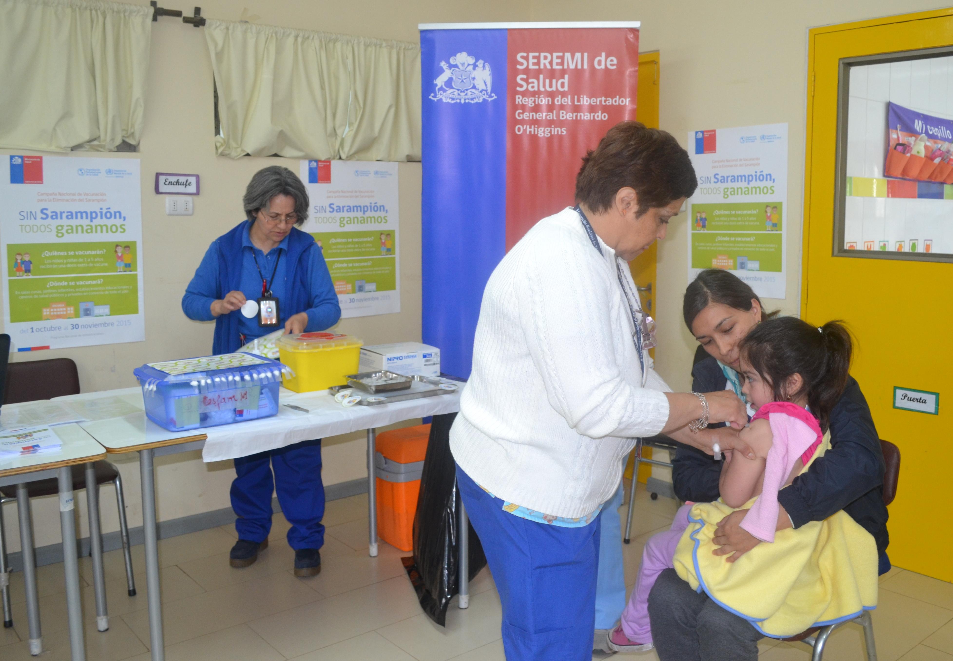 Se extiende vacunación Sarampión
