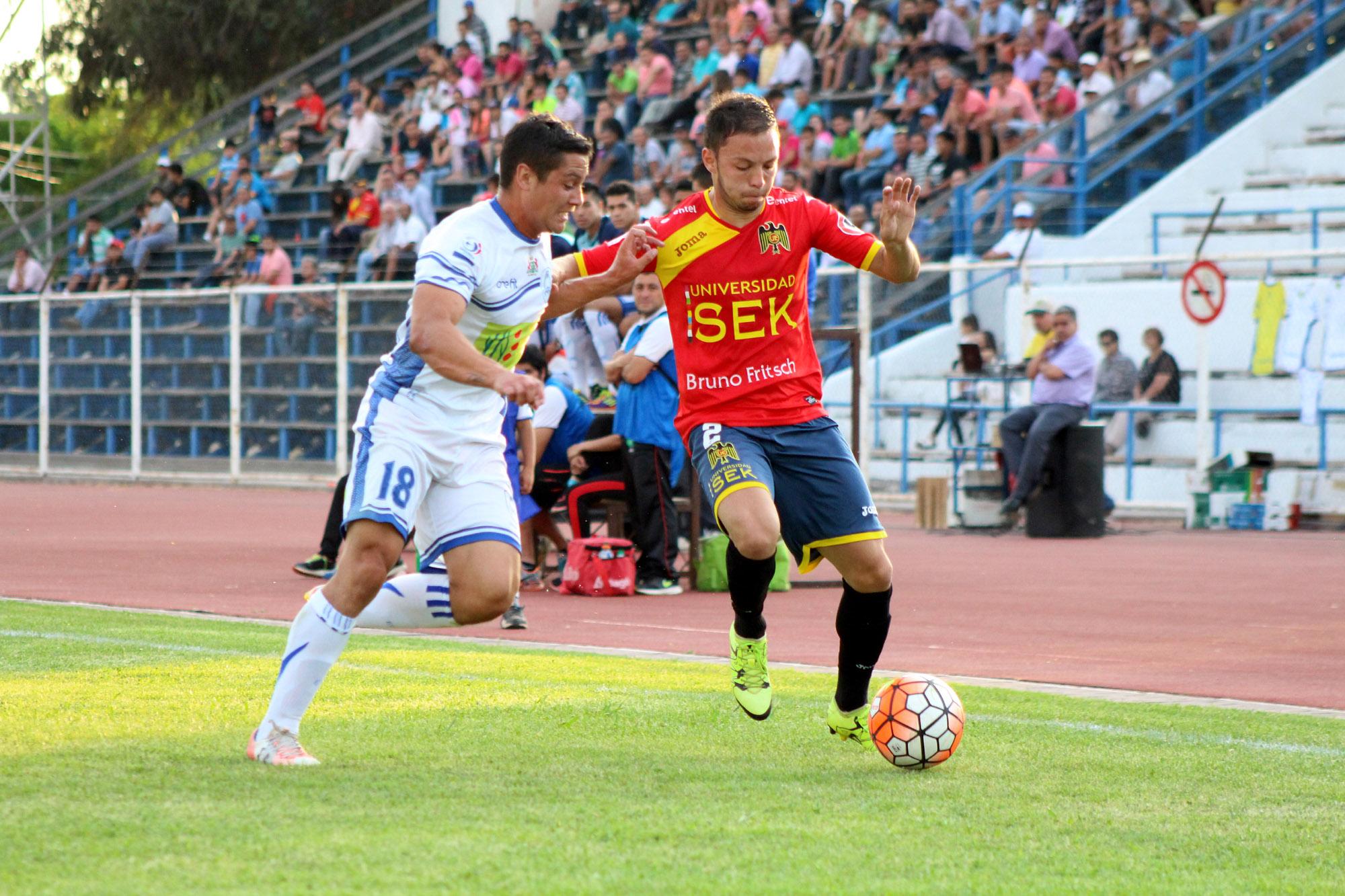 Los sanfernandinos se pararon de igual a igual frente a Unión Española y se quedaron con el triunfo por 1-0.