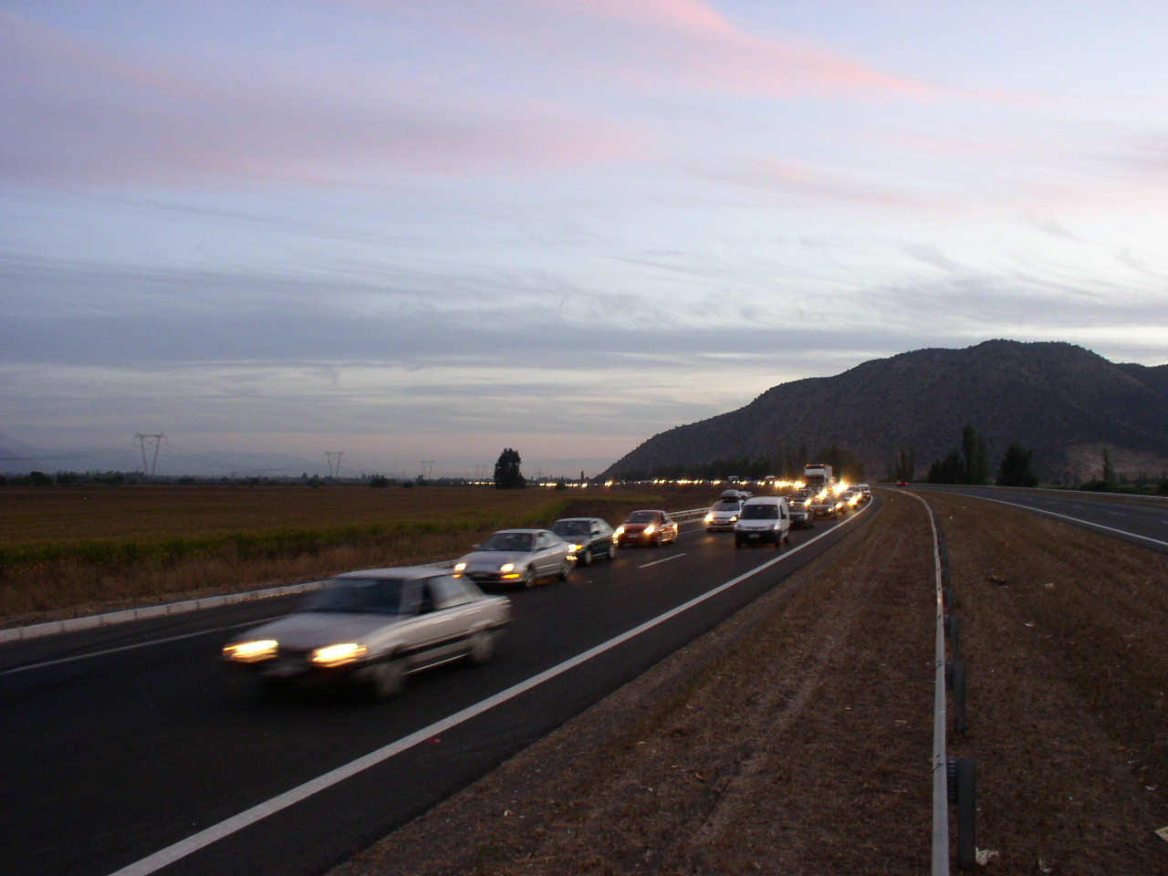 En la Ruta Travesía se registro el primer accidente del 2016