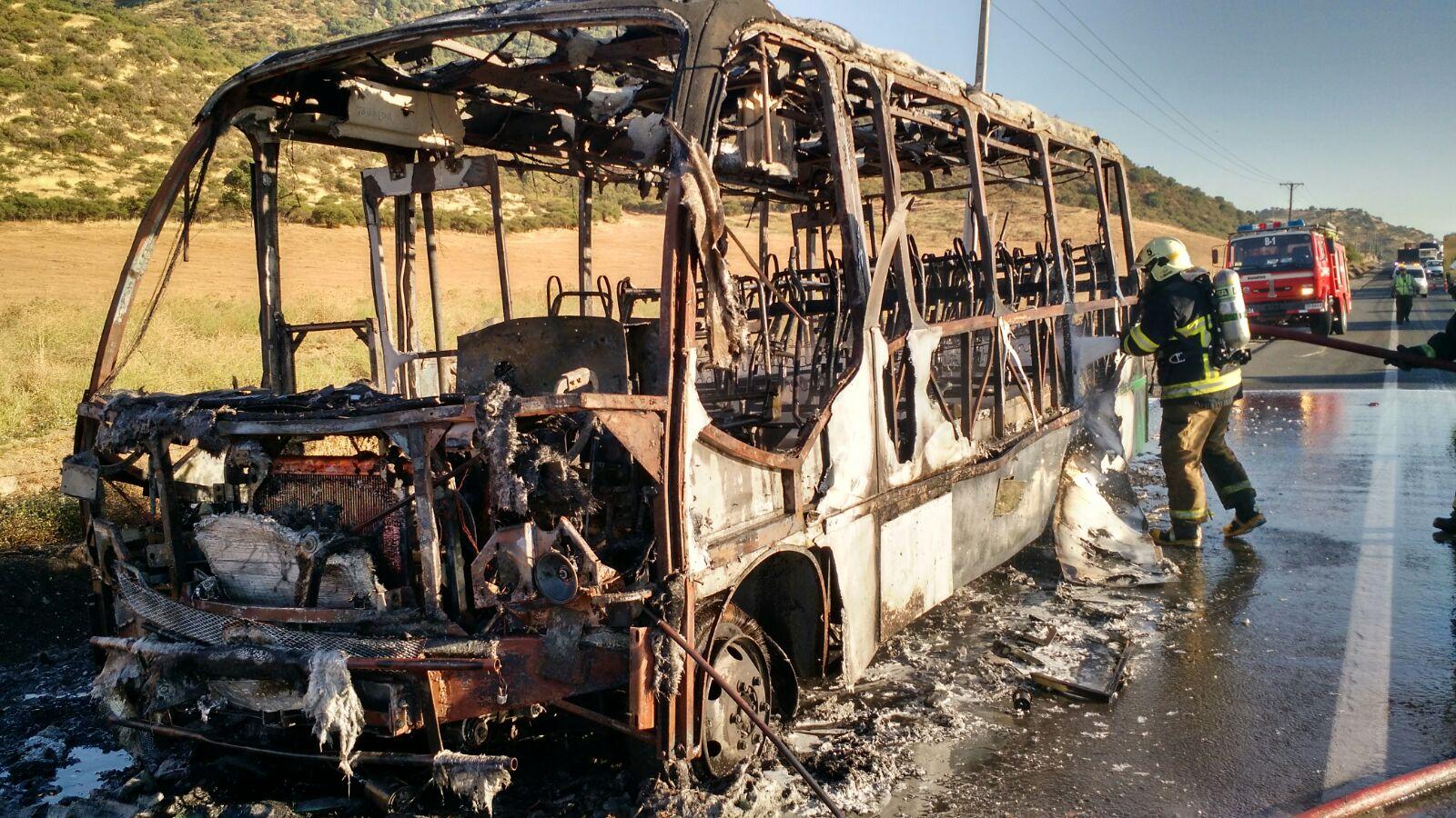 bus quemado