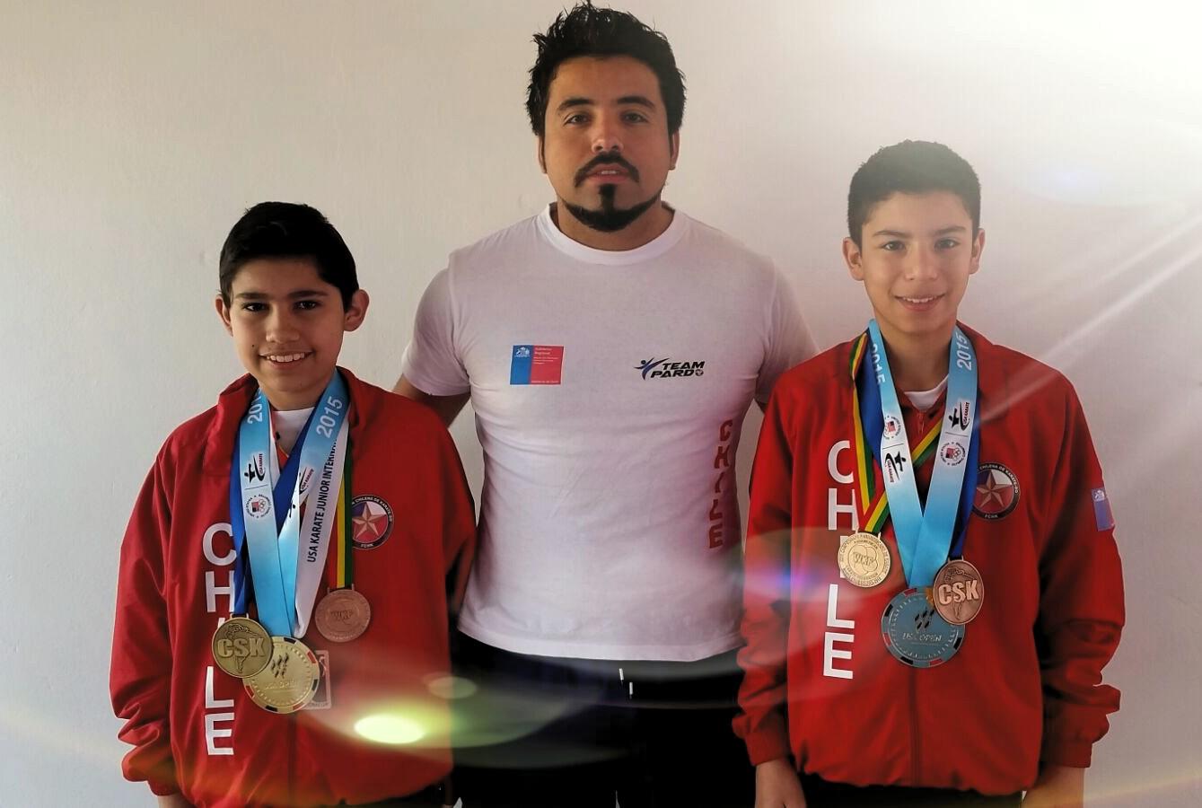 karatecas regionales