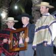 El artesano Sergio Godoy Parra recibió el reconocimiento de Ferochi.