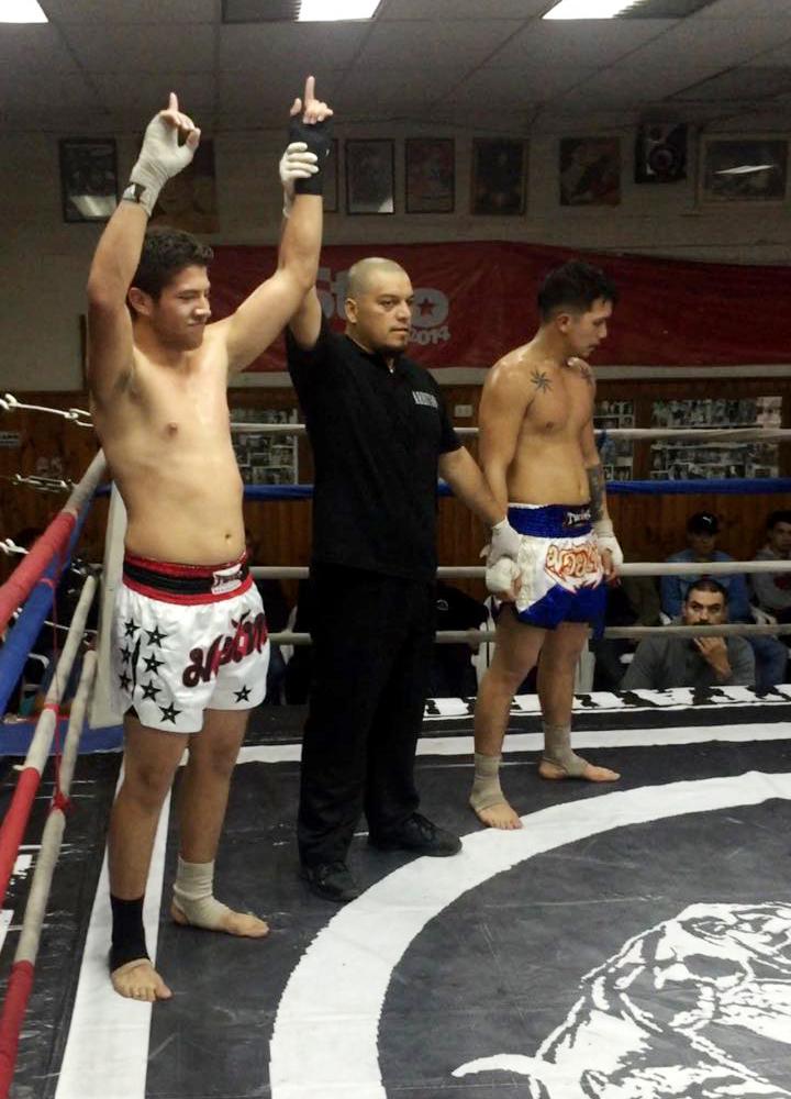 kickboxing kevin briones