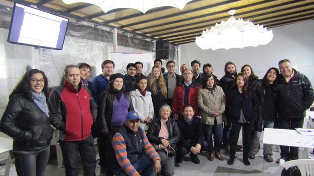 Emprendedores y microempresarios participantes del GeneraTour 2017