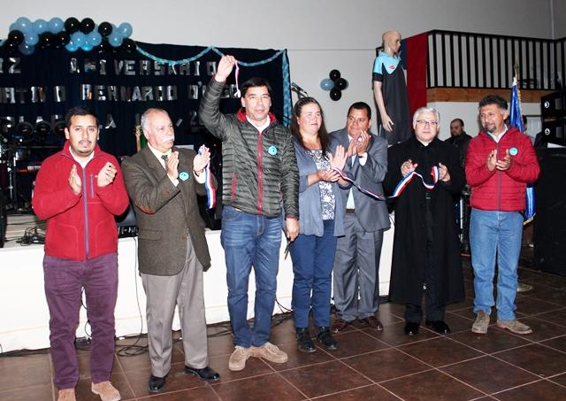 club inaugura sede social